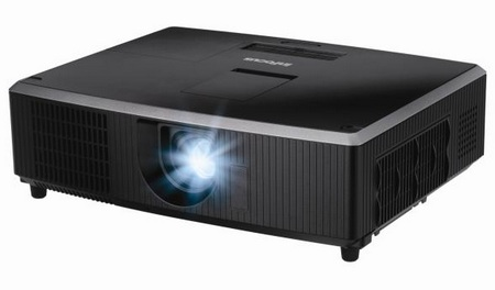 InFocus IN5122 and IN5124 Affordable LCD Installation Projectors angle