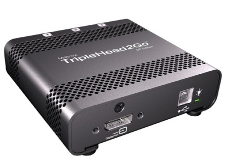 Matrox TripleHead2Go DP Multi-Monitor Adapters
