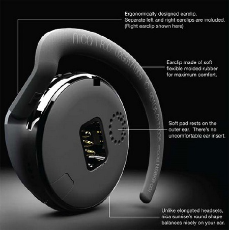 Maverick Lifestyle Nica Sunrise Bluetooth Headset details