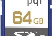 PQI 64GB SDXC Class 10 High Speed Memory Card