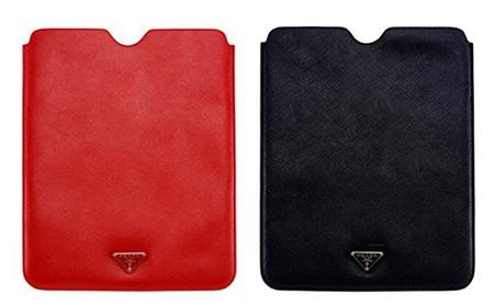 Prada Leather iPad Sleeves