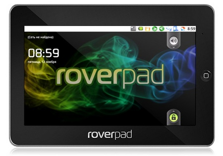Rover Computers RoverPad 3WZ10 Android Tablet Device