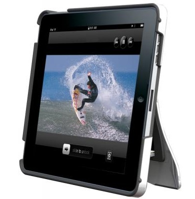 Scosche kickBACK P1 Hybrid Case with Kickstand for iPad