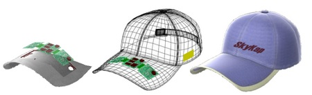 SkyKap Advisor Golf Rangefinder GPS Cap 1