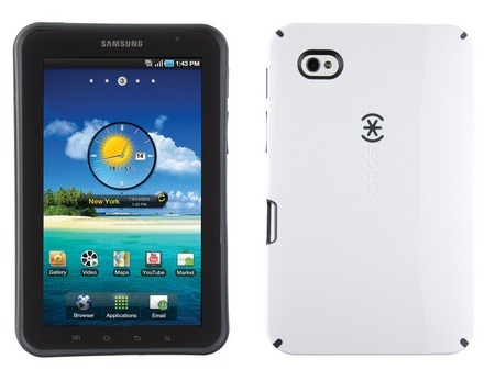 Speck Candyshell Cases for Galaxy Tab white