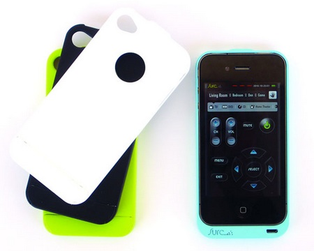 Surc iPhone Case doubles as Universal Remote