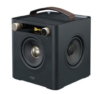 TDK Two-Speaker Boombox