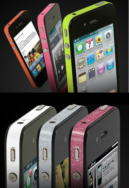 True Power ThinSkin Personalization Films for iPhone 4 1