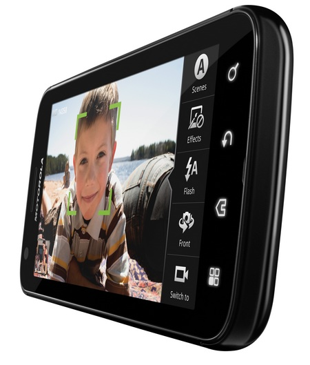 AT&T Motorola ATRIX 4G Dual Core Android Phone angle