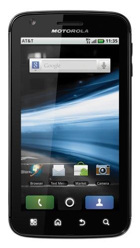 AT&T Motorola ATRIX 4G Dual Core Android Phone front