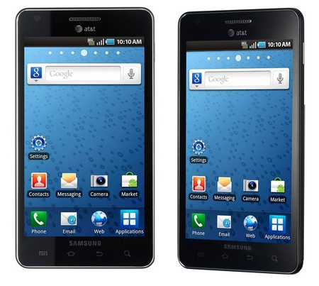 AT&T Samsung Infuse 4G Android Phone with Super AMOLED Plus Screen