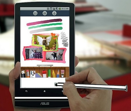 Asus Eee Pad MeMO 7-inch Tablet will run Android 3.0 Honeycomb painter