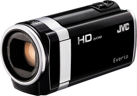 JVC HD Everio GZ-HM450 and GZ-HM440 Full HD Camcorders black