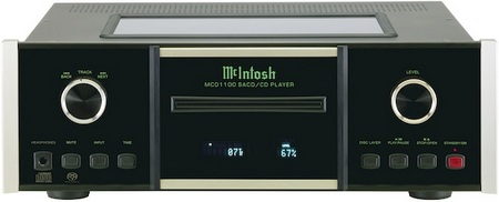 McIntosh MCD1100 SACD CD Player with Sabre32 Reference Audio DAC 1