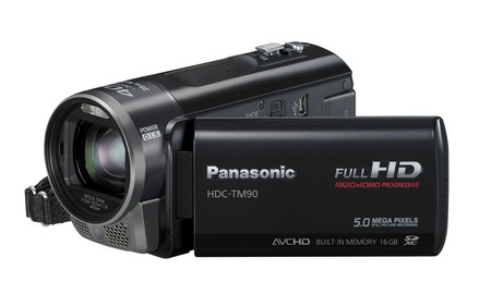 Panasonic HDC-TM90 3D-Capable 1MOS Full HD Camcorder