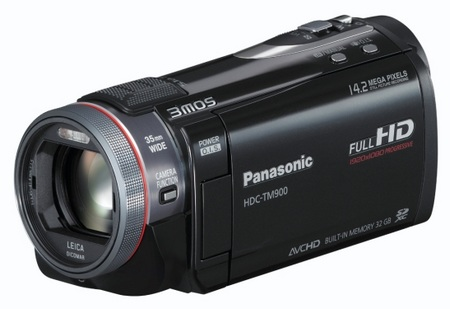 Panasonic HDC-TM900 Full HD 3MOS Camcorder