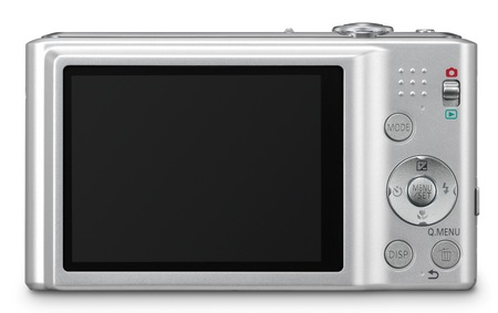 Panasonic LUMIX DMC-FH25 digital camera with 8x zoom back