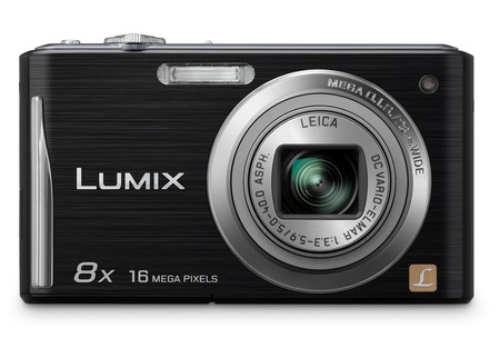 Panasonic LUMIX DMC-FH25 digital camera with 8x zoom black