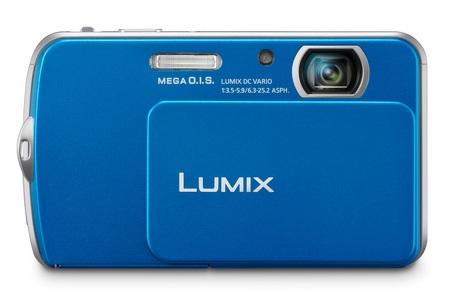 Panasonic LUMIX DMC-FP5 touchscreen camera