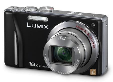 Panasonic LUMIX DMC-ZS10 and DMC-ZS8 Digital Camera with 16x Optical Zoom