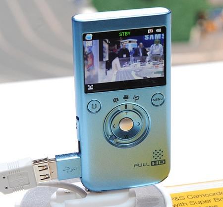 Samsung HMX-P100 Pocket Full HD Camcorder