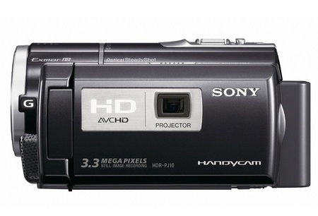 Sony Handycam HDR-PJ10 Full HD Camcorder with built-in Projector