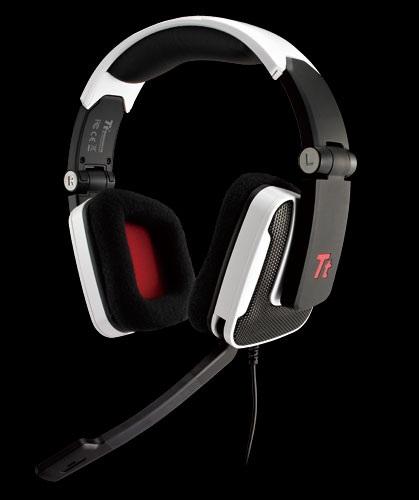 Tt eSPORTS Shock Gaming Headset white