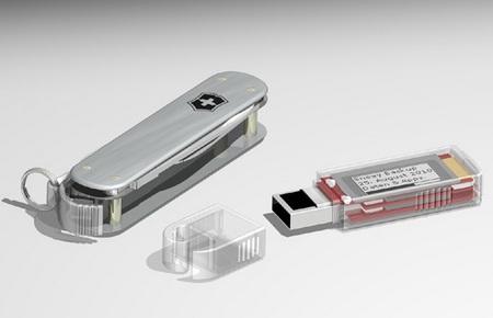 Victorinox Secure SSD Swiss Army Knife