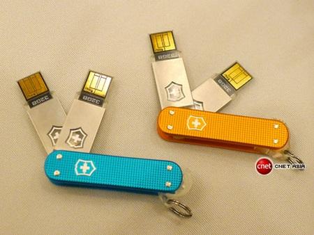 Victorinox Slim Duo USB flash drive Swiss Army Knife