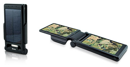 dexim P-Flip DCA223 Foldable Solar Power for iPhone 4