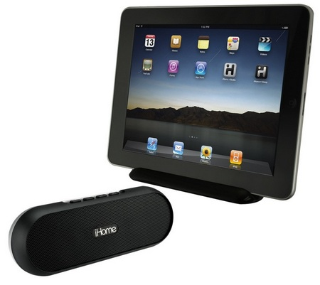 iHome iDM12 portable bluetooth soundbar speaker for ipod ipad iphone