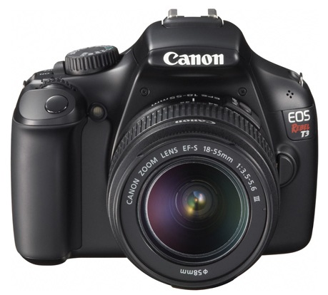Canon EOS 1100D Rebel T3 Entry-level DSLR Camera front