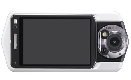 Casio TRYX Camera with a Tricked-Out Design white back