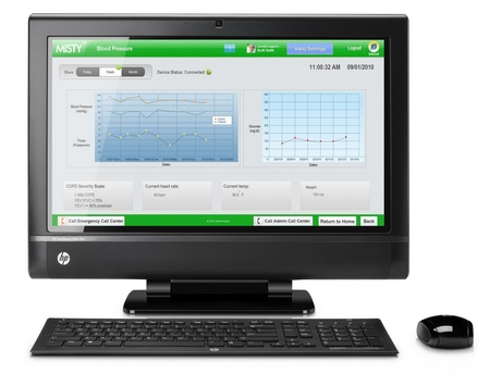 HP TouchSmart 9300 Elite Touchscreen All-in-one Business PC