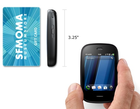 HP Veer - Smallest webOS Smartphone size