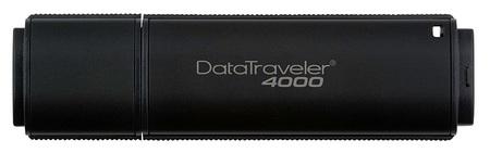 Kingston DataTraveler 4000 Secure USB Flash Drive is FIPS 140-2 Level 2 Certified