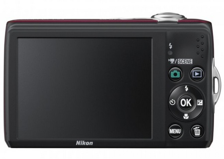 Nikon CoolPix L24 digital camera back