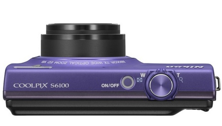 Nikon CoolPix S6100 with 7x Optical Zoom top