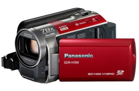 Panasonic SDR-H100 Standard Definition Camcorder