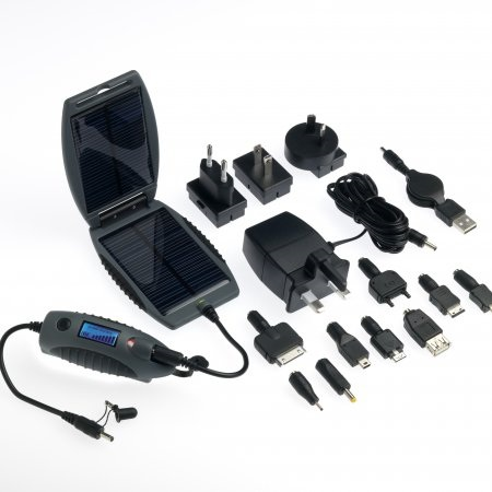 PowerTraveller powermonkey eXplorer Solar Portable Charging Kit items