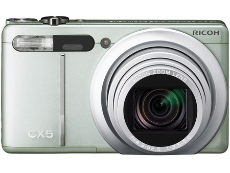 Ricoh CX5 Digital Camera with Hybrid AF System and 10.7x Optical Zoom silver