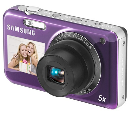 Samsung DualView PL120 dual screen camera