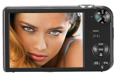 Samsung DualView PL170 dual screen camera back