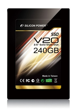 Silicon Power Velox V20 SSD with AES 128-bit Encryption