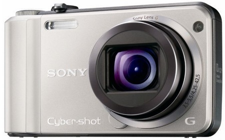 Sony Cyber-shot DSC-H70 10x Zoom Digital Camera silver