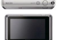 Sony Cyber-shot DSC-T110 Touchscreen Digital Camera back top
