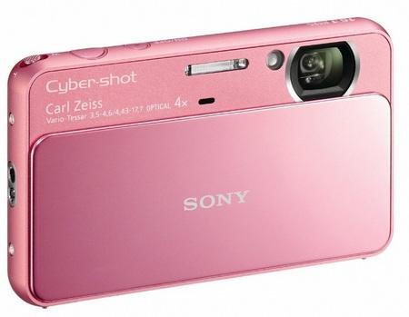 Sony Cyber-shot DSC-T110 Touchscreen Digital Camera pink