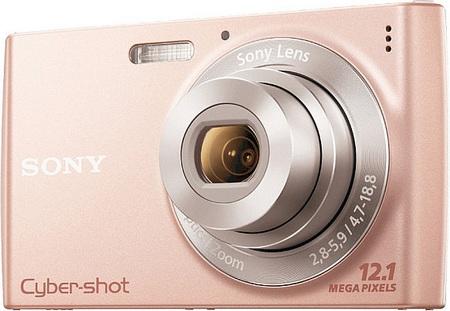 Sony Cyber-shot DSC-W510 digital camera pink