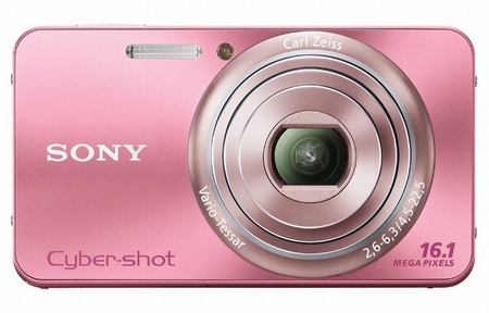 Sony Cyber-shot DSC-W570 digital camera pink