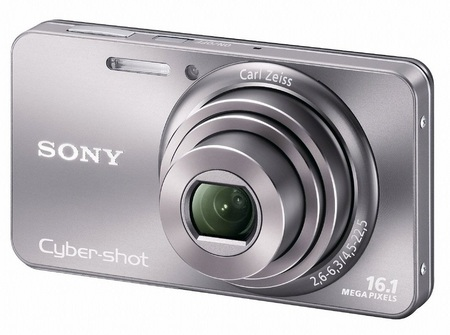 Sony Cyber-shot DSC-W570 digital camera silver